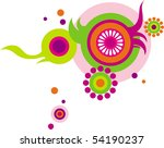 abstract ornament   Shutterstock .eps vector #54190237