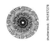 circular graphic design for... | Shutterstock .eps vector #541937278