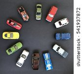 The Group Of Car Toy