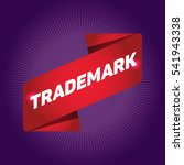 trademark arrow tag sign. | Shutterstock .eps vector #541943338