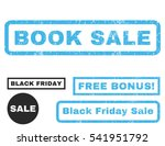 book sale rubber seal stamp...   Shutterstock .eps vector #541951792
