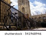 bicycles at oxford university | Shutterstock . vector #541968946