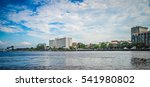 Small photo of View of Wilmington North Carolina from across the river