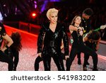lady gaga performs at the... | Shutterstock . vector #541983202