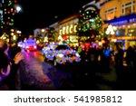 Christmas Parade Blurred...