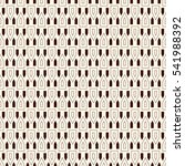 outline seamless pattern with... | Shutterstock .eps vector #541988392