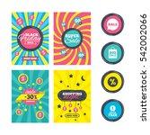 sale website banner templates.... | Shutterstock . vector #542002066