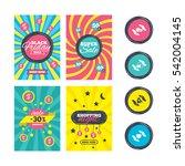 sale website banner templates....   Shutterstock . vector #542004145
