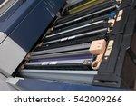 toner cartridge in the...   Shutterstock . vector #542009266