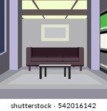 office interior | Shutterstock .eps vector #542016142
