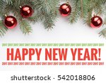 background with christmas... | Shutterstock . vector #542018806