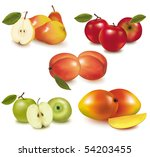 photo realistic vector... | Shutterstock .eps vector #54203455