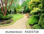 Lovely  Public Spring Garden ...