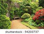 lovely  public spring garden ...   Shutterstock . vector #54203737