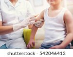 Pediatrician makes vaccination...