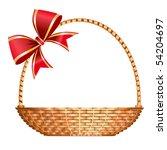 vector gift basket | Shutterstock .eps vector #54204697