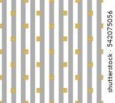 seamless gold square glitter... | Shutterstock .eps vector #542075056