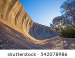 wave rock  near hyden in...