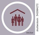 family icon | Shutterstock .eps vector #542084272