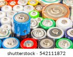 Small photo of Composition with alkaline batteries