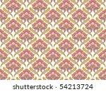 retro seamless pattern ...