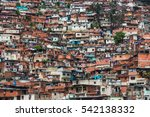 barrio in caracas | Shutterstock . vector #542138332