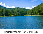 Forest Lake Panoramic Landscap...