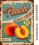 Peach Vintage Banner