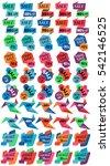 set of sale discount labels ... | Shutterstock . vector #542146525