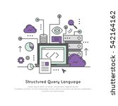 vector icon style illustration... | Shutterstock .eps vector #542164162