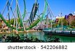 orlando   april 3  game... | Shutterstock . vector #542206882