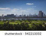 Dubai View Over Golf Creek And...