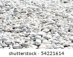 White Stones Background