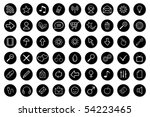 web icons | Shutterstock .eps vector #54223465