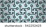 white with blue decorative...   Shutterstock .eps vector #542252425