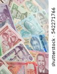 variety of the african banknotes | Shutterstock . vector #542271766