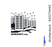 smart sity icon. collection... | Shutterstock .eps vector #542274442