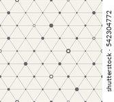 vector seamless pattern.... | Shutterstock .eps vector #542304772