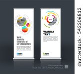 abstract business vector set of ... | Shutterstock .eps vector #542306812