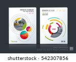 business vector set. brochure... | Shutterstock .eps vector #542307856