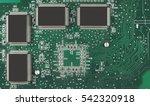 computer chip electronics... | Shutterstock . vector #542320918