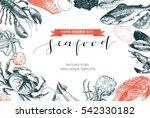 vector hand drawn set of...   Shutterstock .eps vector #542330182