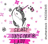 creative universal card. simple ... | Shutterstock .eps vector #542336545