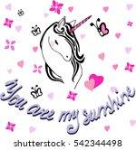 creative universal card. simple ... | Shutterstock .eps vector #542344498