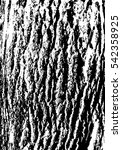 distressed wood grunge grainy... | Shutterstock .eps vector #542358925