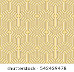 seamless pattern based on the... | Shutterstock . vector #542439478