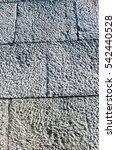 natural granite stonewall   Shutterstock . vector #542440528
