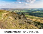 Wainstones  North Yorkshire  Uk