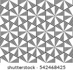 sophisticated seamless pattern... | Shutterstock . vector #542468425