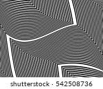oblique  diagonal lines edgy... | Shutterstock .eps vector #542508736